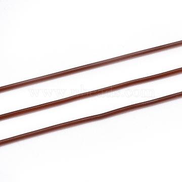 0.8mm Coffee Elastic Fibre Thread & Cord