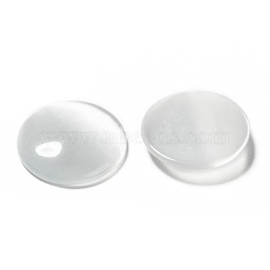Cat Eye Glass Cabochons(X-CE074-25-1)-2