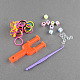 DIY Loom Bands Refills Kit with Rubber Bands(DIY-R009-03)-2