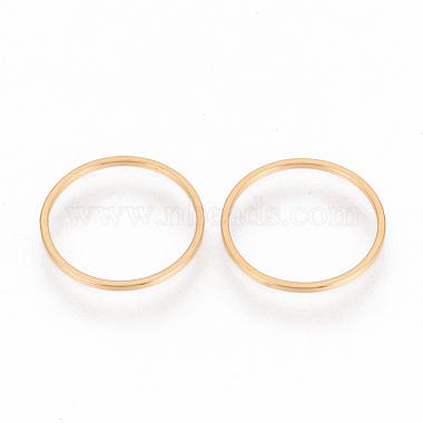 Golden Ring Stainless Steel Links