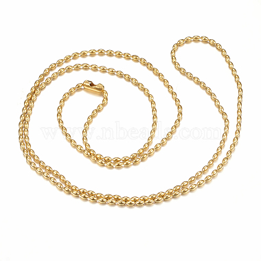 304 Stainless Steel Ball Chain Necklaces Making(X-MAK-I008-03G-A02)-2
