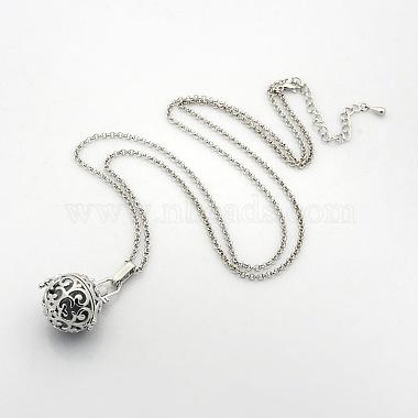 LightGrey Brass Necklaces