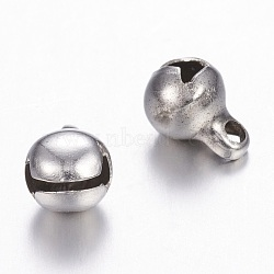 304 aimants en acier inoxydable, platine, 8x5 mm, trou: 1.5 mm(X-UNKW-N0001-01P)