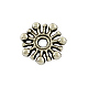 Tibetan Style Alloy Flower Spacer Beads(X-TIBEB-5532-AS-LF)-1