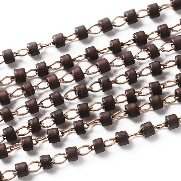CoconutBrown Brass+Glass Handmade Chains Chain