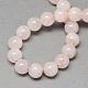 Natural Rose Quartz Bead Strands(G-R193-13-10mm)-2