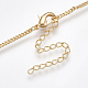 Brass Curb Chain Necklaces Making(X-KK-T038-235G-1)-3