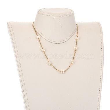 Beaded Necklaces(NJEW-JN02975)-4