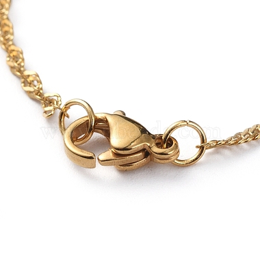 304 Stainless Steel Singapore Chains Necklaces(X-NJEW-JN02662-04)-3