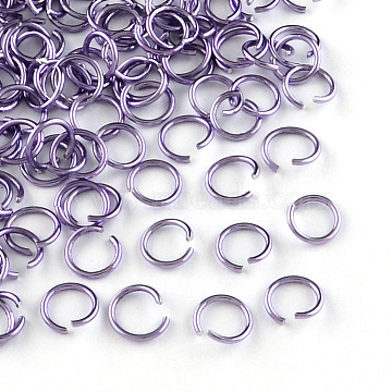 Plum Ring Aluminum Open Jump Rings