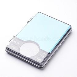 mini balance numérique portable, valeur: 0.01 g ~ 600 g, fonction de comptage, bijoux diamant balance électronique, noir, 165x110x21 mm(TOOL-J010-03)