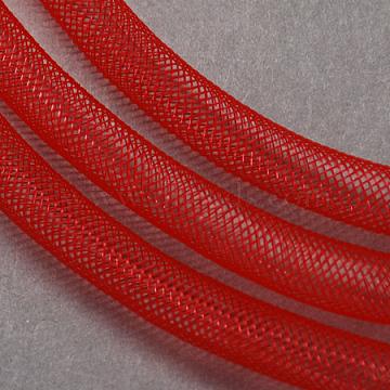 Plastic Net Thread Cord, Red, 8mm, 30Yards(PNT-Q003-8mm-07)