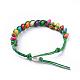 Waxed Cotton Cord Bracelets(BJEW-JB04495-05)-3