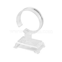 Plastic Bracelet Displays, Clear, 94x60x40mm(BDIS-TA0001-01)