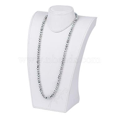 Natural Sesame Jasper/Kiwi Jasper Beaded Multi-use Necklaces/Wrap Bracelets(NJEW-K095-B02)-4