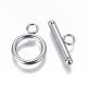 304 Stainless Steel Toggle Clasps(STAS-I120-11B-P)-1