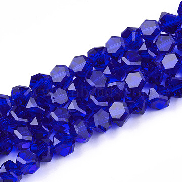 9mm Blue Others Glass Beads
