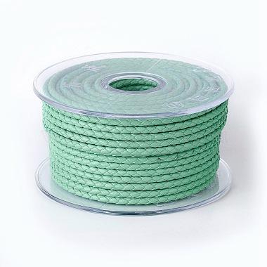 3mm Aquamarine Cowhide Thread & Cord