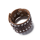 Unisex Fashion Leather Cord Bracelets(BJEW-BB15600-A)-4