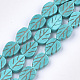Synthetic Turquoise Beads Strands(TURQ-T003-15C)-1