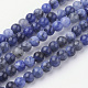 Natural Sodalite Bead Strands(G-G735-58-4mm-A)-1