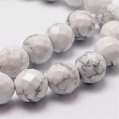 Natural Howlite Beads Strands(G-D840-44-6mm)-3