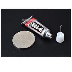 Nail art b6000 colle artisanale, colle super-adhésive à séchage rapide, clair, capacité: 3 ml(MRMJ-L003-Z01-3ml)