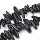 Natural Obsidian Beads Strands(G-S338-02)-1