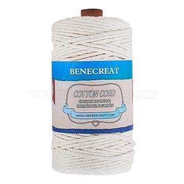 3mm Ivory Cotton Thread & Cord