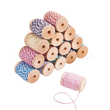 2mm Mixed Color Cotton Thread & Cord