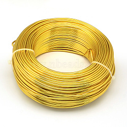 алюминиевая проволока, золото, 3.0 мм; 25 м / 500 г(AW-S001-3.0mm-14)