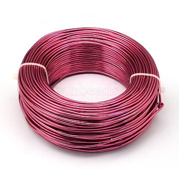 1mm Cerise Aluminum Wire