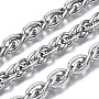 304 Stainless Steel Rope Chains Chain(CHS-T003-30B-P)