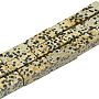Cuboid Leopard Skin Jasper Beads(G-S300-63-8x20mm)