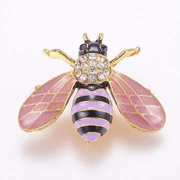 Colorful Alloy Safety Brooch