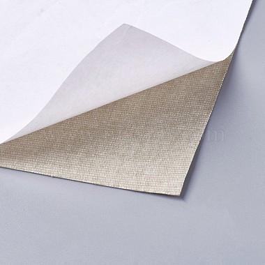 Self Adhesive PU Imitation Leather Stickers(DIY-O001-08)-2