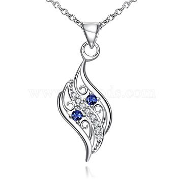Blue Cubic Zirconia Necklaces