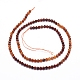 Natural Orange Garnet Beads Strands(G-G823-11-2mm)-2