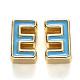 Perles d'émail d'alliage de placage de support(X-ENAM-S122-033E-NR)-2