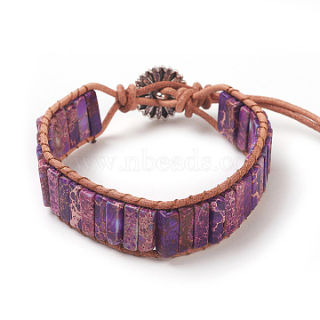 DarkOrchid Regalite Bracelets