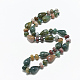 Natural Indian Agate Beaded Necklaces(NJEW-S389-11)-1