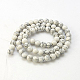 Synthetic Howlite Beads Strands(X-G-E110-4mm-5)-2