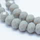 Faceted Rondelle Glass Beads Strands(GLAA-I033-4mm-M)-3