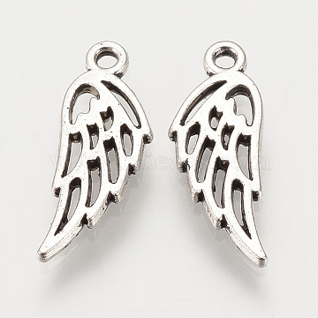 Antique Silver Wing Alloy Charms