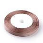 BurlyWood Polyester Ribbon(SRIB-Q009-12mm-117)