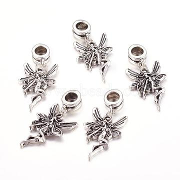 33mm Angel & Fairy Alloy Dangle Beads