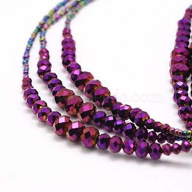 Glass Bead Lariat Necklaces(X-NJEW-O059-04F)-4