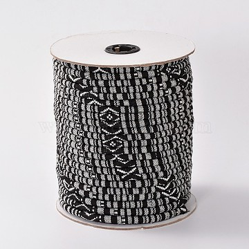 6mm Black Cloth Thread & Cord
