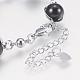 Glass Round Beads Bracelets(BJEW-F298-02A)-3