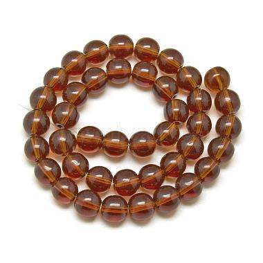 Glass Beads Strands(X-GR4mm65Y)-2